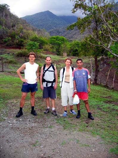 Pico Turquino trailhead at...
