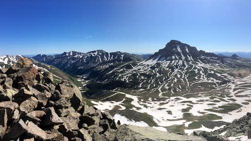 Uncompahgre from Matterhorn