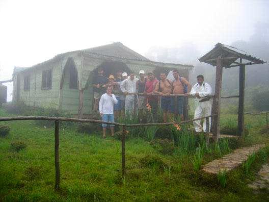 Pico Cuba shelter at 1,650m