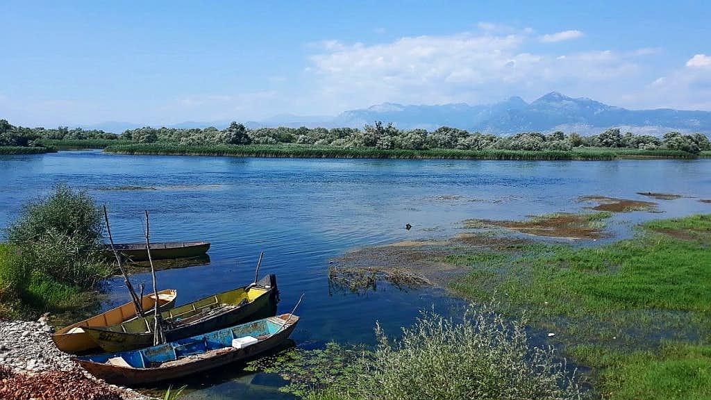 Skhoder Lake with Prokletije at background