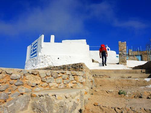 Profitis Ilias the summit Monastery