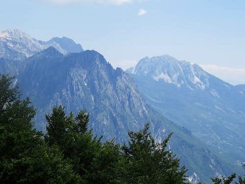 Peaks above Theth