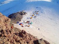 Camp Schurman, in June 04