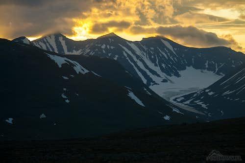 Mount Sarektjakka