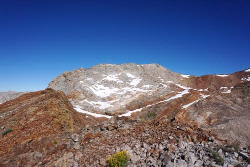 Falcon Peak from the East.