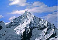 Weisshorn, as seen from summit of Mettelhorn