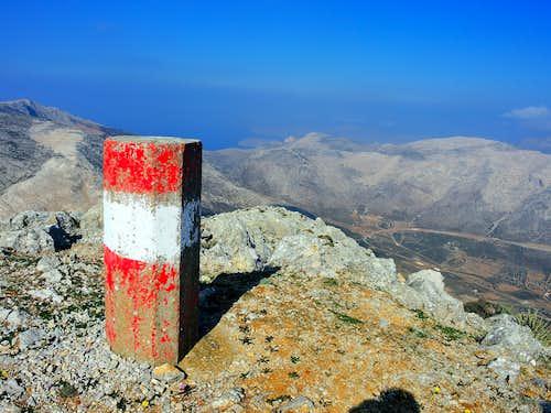 Summit of Profitis Ilias