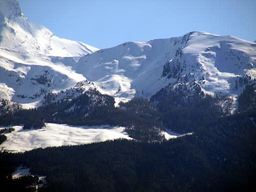 Return to SPRING Grivola's NW Face above Pointe de la Pierre