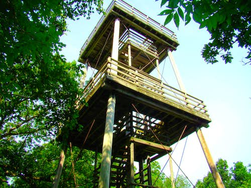 Blue Mound East Lookout Tower