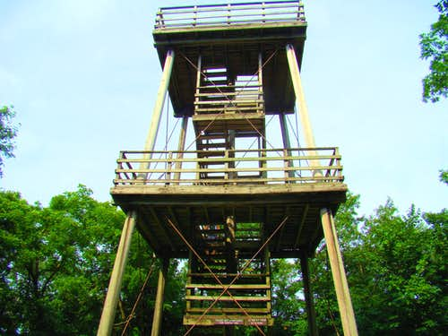 Blue Mound West Lookout Tower