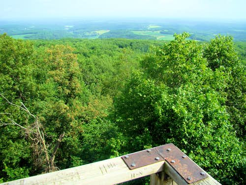 Blue Mound East Tower View