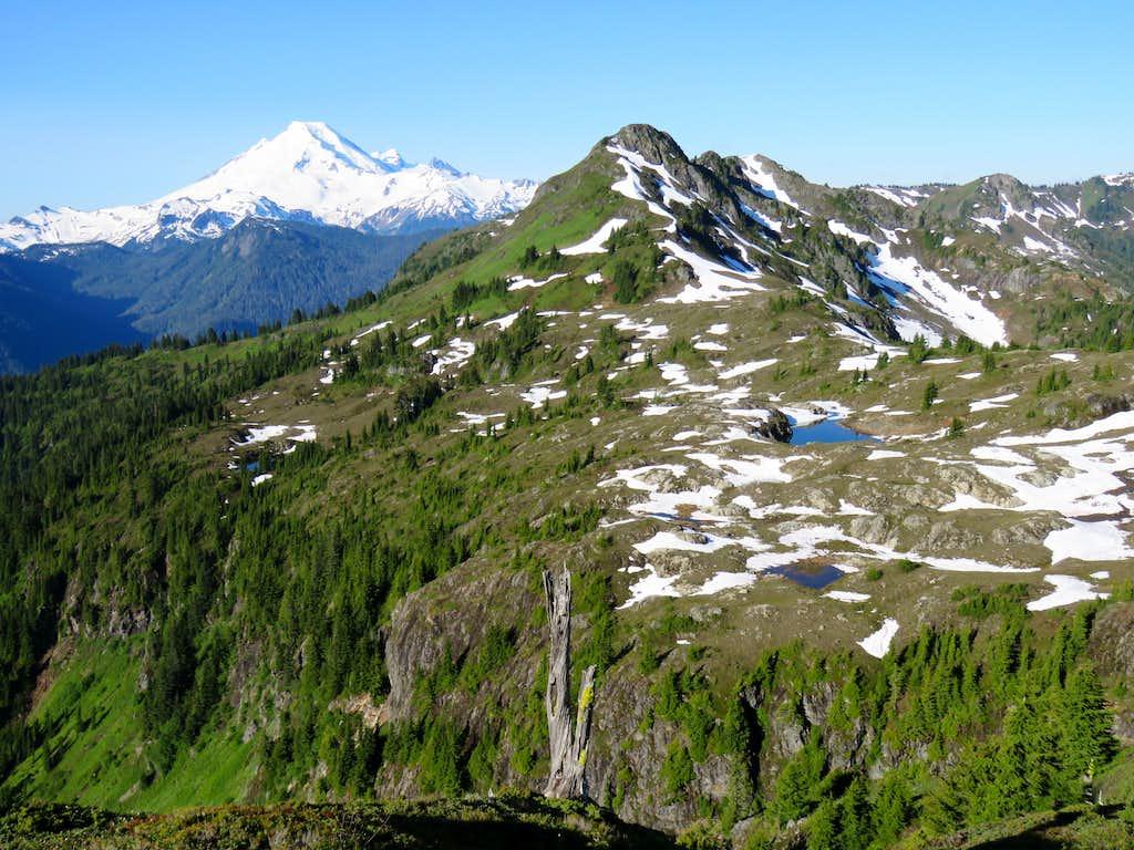 Point 5933 ft & Mt. Baker
