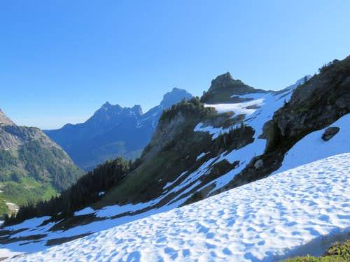 Yellow Aster Butte plus America & Canadian Border Peaks