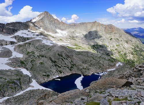 McHenrys Peak from Spearhead
