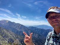 Cris Hazzard on San Bernardino East Peak