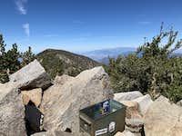 San Bernardino East Peak Trail Register