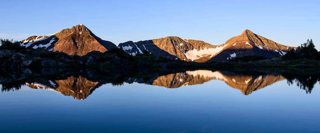 Yule Lakes Sunrise