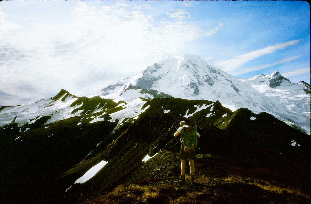 Chowder Ridge and Hadley Peak ( L)