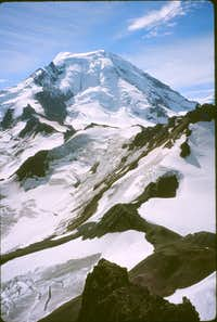 Mt. Baker north face from Hadley Peak summit