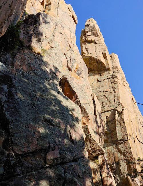 Prospector Crag Southwest End