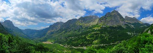 North Albanian Alps (Prokletije) - Boge Valley