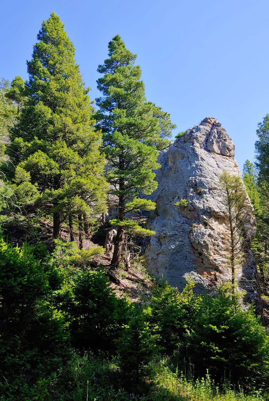Welcome Crag, Green Canyon