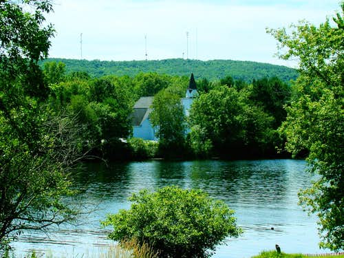 Old Country Church on the Chippewa River