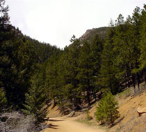 Kineo Mountain rock...