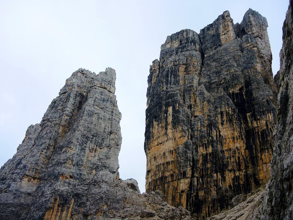 Torre Romana and Torre Grande, Cinque Torri group