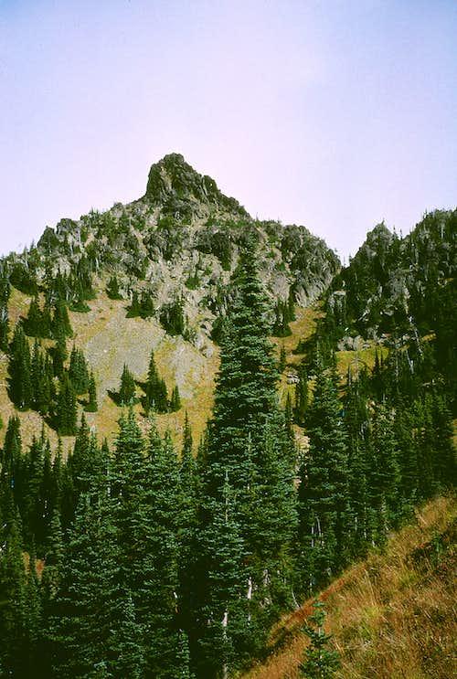 Threeway Peak from the west