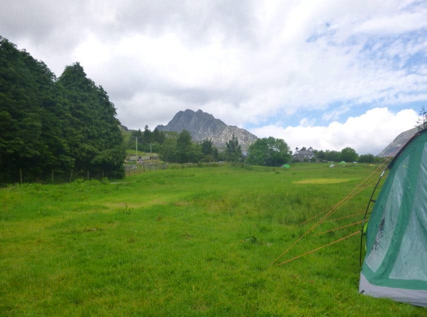 17. Tryfan from the National Trust campsite