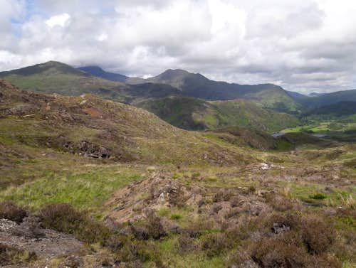 23. A distant view of Snowdon