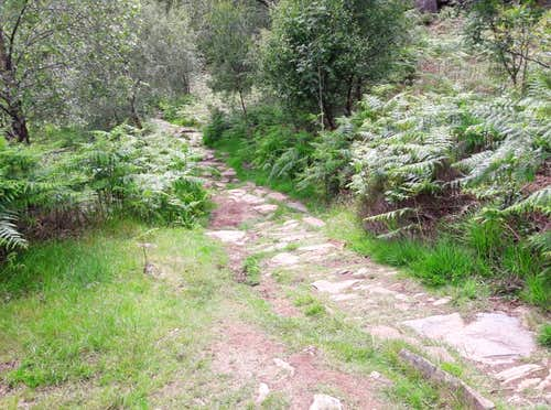 27. A well graded footpath