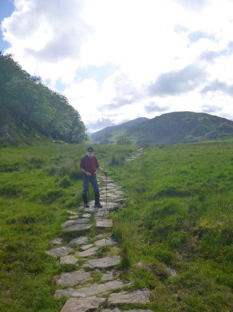 37. Johnnie on th PYG track