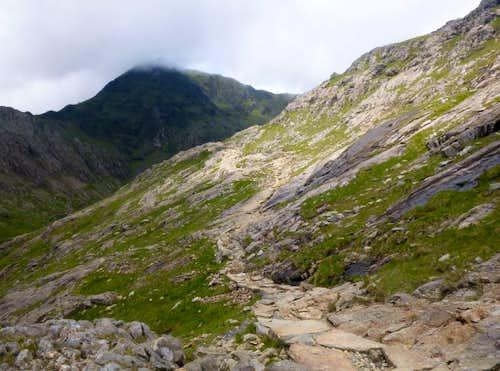 41. The summit of Yr Wyddfa in clouds