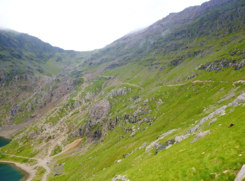 43. The two paths meet below the Col
