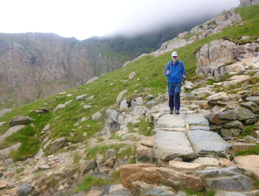 46. Ken descends the Miners path