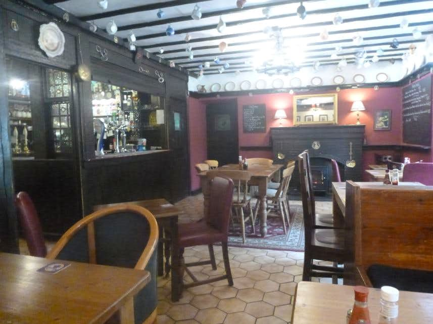 49. The deserted bar at the Tyn Y Coed