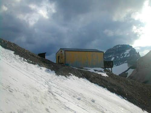 The Neil Colgan Hut. August...