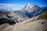 Mt. Stuart dominates the access trail