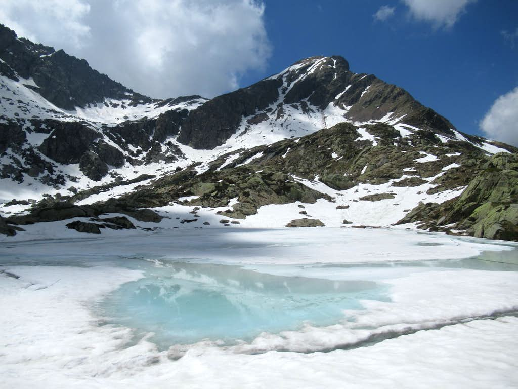Spring awakening lake in San Grato Valley (3)