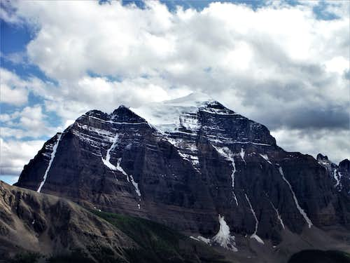 Mount Temple from enroute