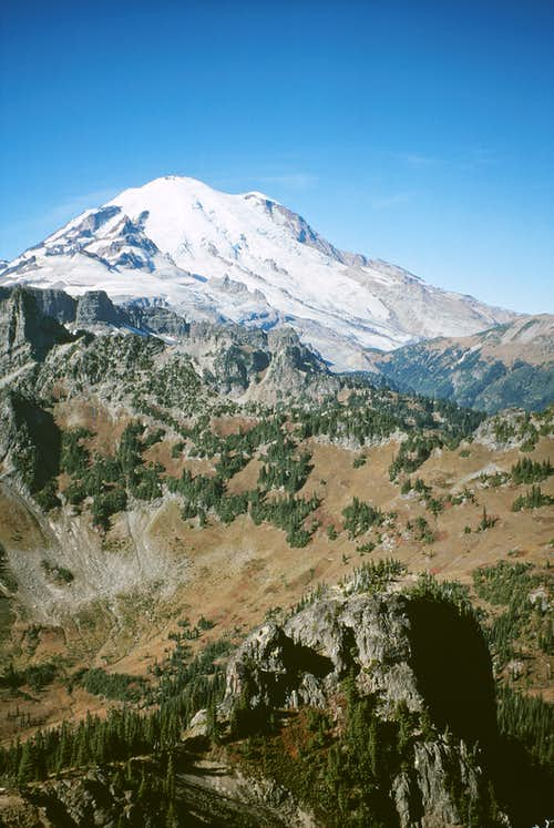 Mt. Rainier from Barrier Peak