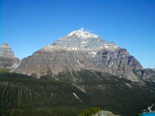Mt. Temple. August 2002....