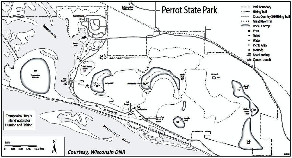 Perrot Trails Map