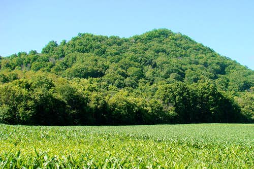 East Side of Reed's Peak and Perrot Ridge