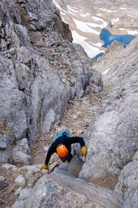 SW Couloir - Middle Teton