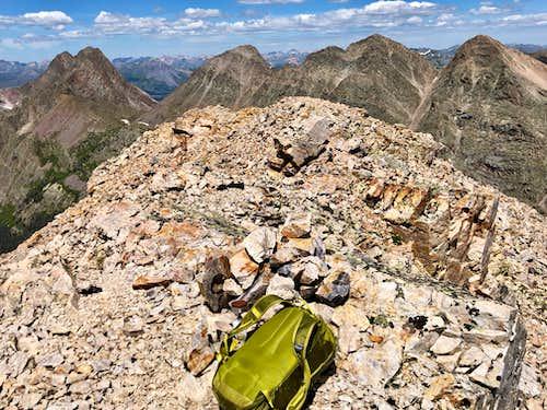 Summit of Peak Seven