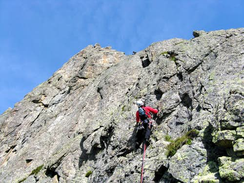 Nearing the summit of Pfriendler