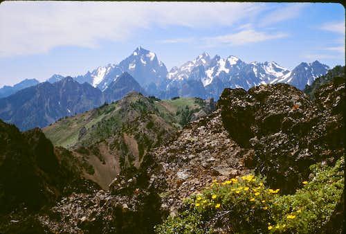 Summit view - looking toward Mt. Constance